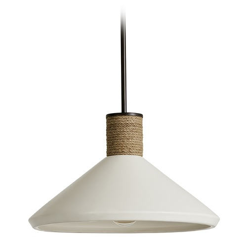 Capital Lighting Capital Lighting Independent 1-Light Dark Pewter Pendant Light 340613PW