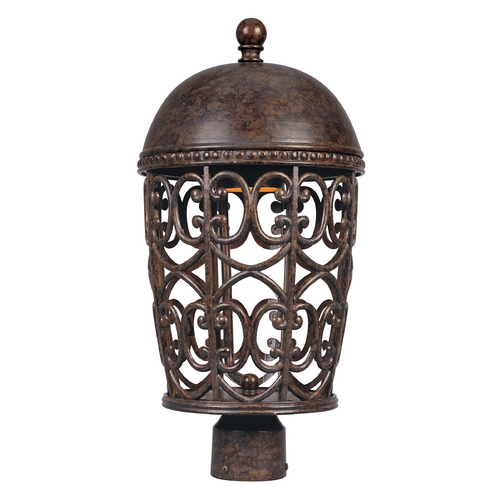 Designers Fountain Lighting Post Light in Burnt Umber Finish 97596-BU