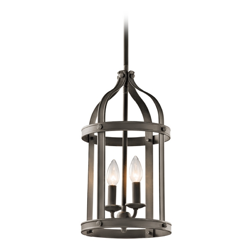 Kichler Lighting Kichler Lighting Steeplechase Olde Bronze Pendant Light 43105OZ