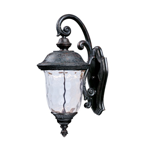 Maxim Lighting Maxim Lighting Carriage House LED Oriental Bronze LED Outdoor Wall Light 55496WGOB