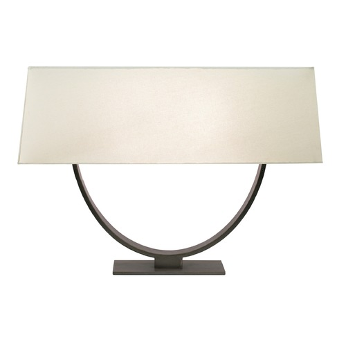 Sonneman Lighting Sonneman Brava Black Brass Table Lamp with Rectangle Shade 7041.51