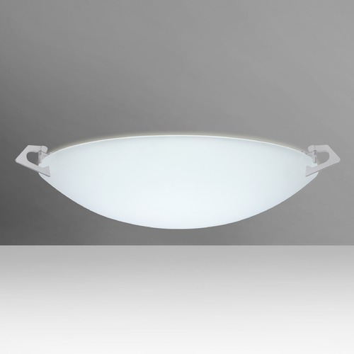 Besa Lighting Besa Lighting Sonya Satin Nickel LED Flushmount Light 841725-LED-SN