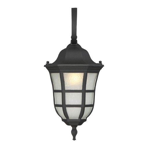 Savoy House Savoy House Lighting Ashburn Black Outdoor Wall Light 5-481-BK