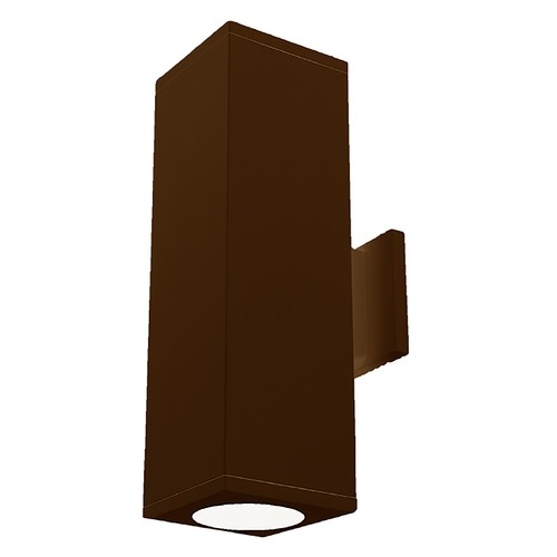 WAC Lighting Wac Lighting Cube Arch Bronze LED Outdoor Wall Light DC-WD06-F835B-BZ