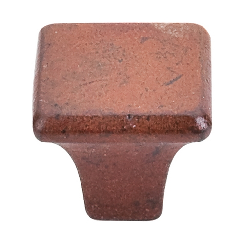 Top Knobs Hardware Modern Cabinet Knob in True Rust Finish M1810
