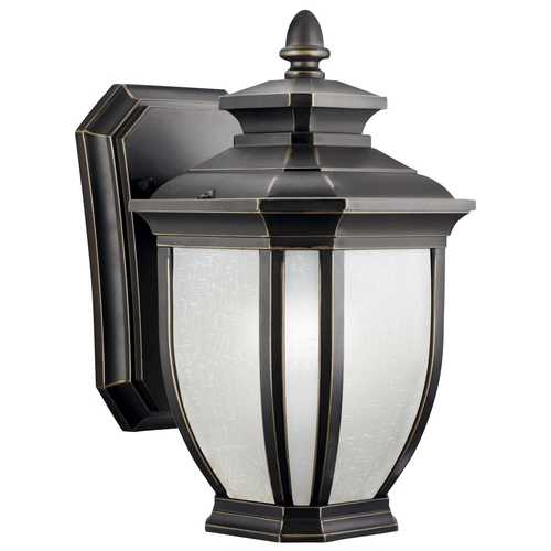 Kichler Lighting Kichler 10-1/2-Inch Outdoor Wall Light 9039RZ
