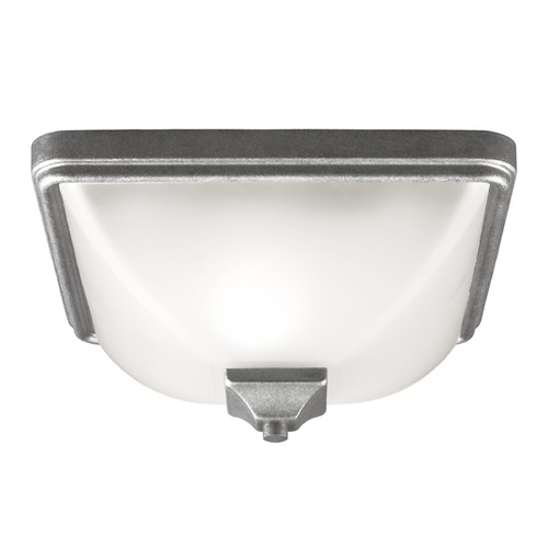 Sea Gull Lighting Sea Gull Lighting Irving Park Weathered Pewter Close To Ceiling Light 7828401BLE-57