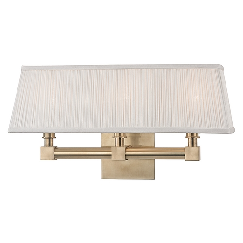 Hudson Valley Lighting Hudson Valley Lighting Dixon Aged Brass Sconce 4043-AGB