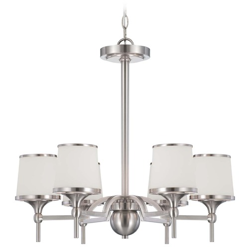 Savoy House Savoy House Satin Nickel Chandelier 1-4381-6-SN