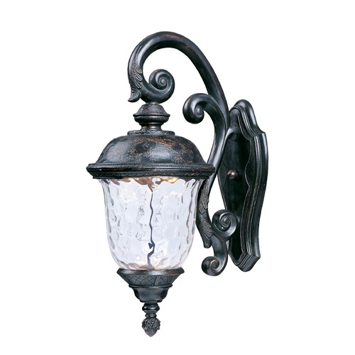 Maxim Lighting Maxim Lighting Carriage House LED Oriental Bronze LED Outdoor Wall Light 55497WGOB