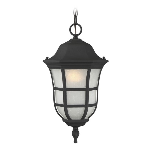 Savoy House Savoy House Lighting Ashburn Black Outdoor Hanging Light 5-482-BK