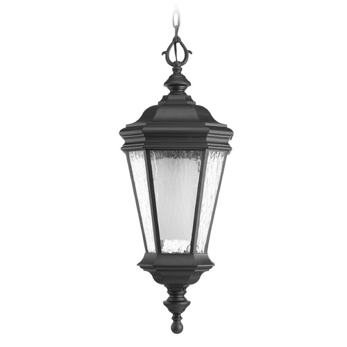 Progress Lighting Progress Lighting Crawford CFL Black Outdoor Hanging Light P6540-31