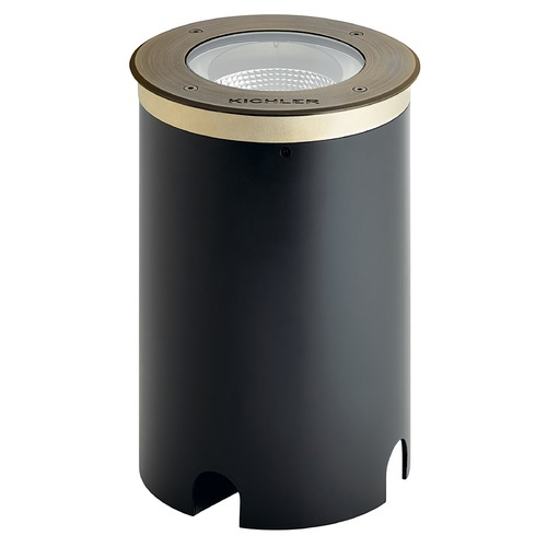 Kichler Lighting Kichler C-Series 10W 45 Degree 3000K In-Ground Well Light Centennial Brass 775LM 16227CBR30