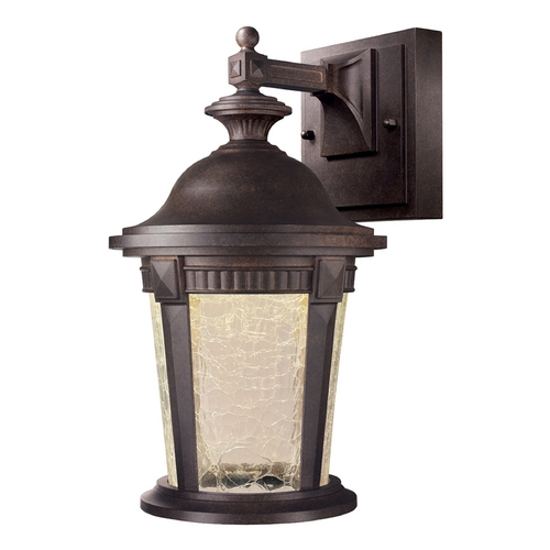 Designers Fountain Lighting LED Outdoor Wall Light with Clear Glass in Mystic Bronze Finish LED21721-MBZ
