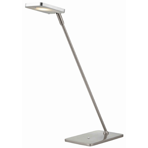 LEDs by ZEPPELIN Pex Satin Nickel LED Task Lamp 130 AL/SN
