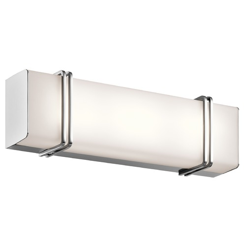 Kichler Lighting Kichler Lighting Impello Chrome LED Bathroom Light 45801CHLED