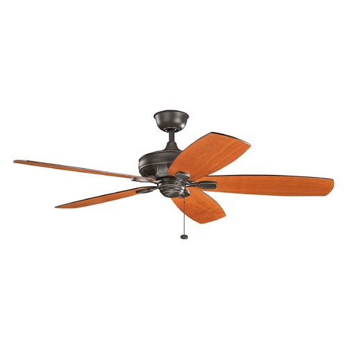Kichler Lighting Kichler Lighting Ashbyrn Olde Bronze Ceiling Fan Without Light 300269OZ
