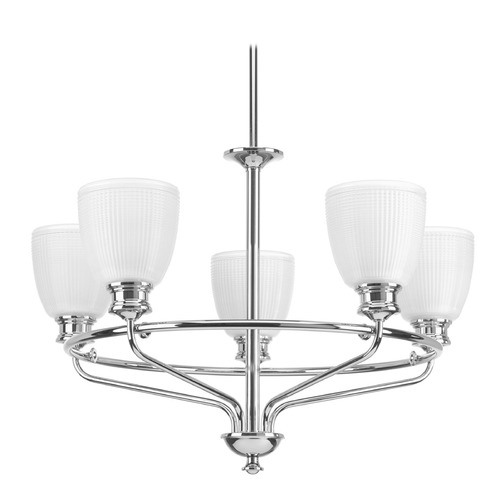 Progress Lighting Progress Lighting Lucky Polished Chrome Chandelier P4723-15