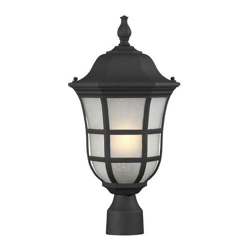 Savoy House Savoy House Lighting Ashburn Black Post Light 5-483-BK