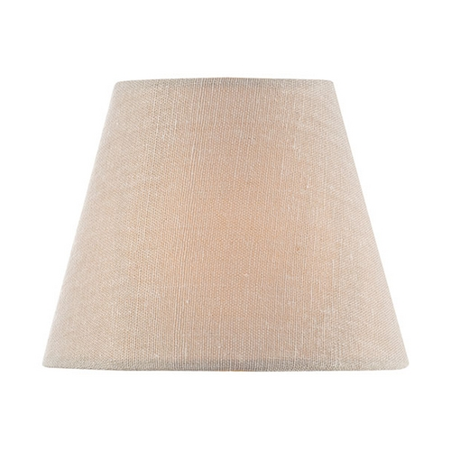 Lite Source Lighting Linen Empire Lamp Shade with Clip-On Assembly CH5216-5