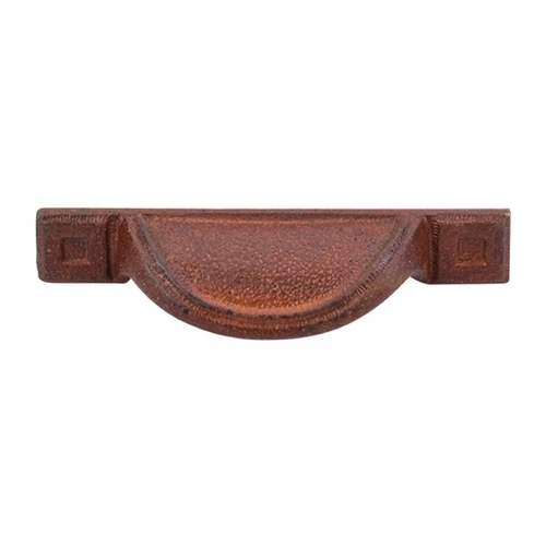Top Knobs Hardware Cabinet Pull in True Rust Finish M1812