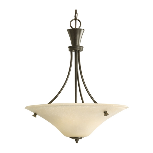 Progress Lighting Progress Pendant Light in Forged Bronze Finish P3814-77