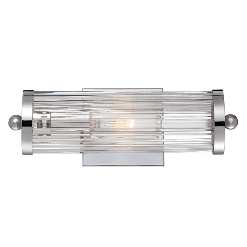 Savoy House Savoy House Polished Chrome Bathroom Light 8-6801-1-11
