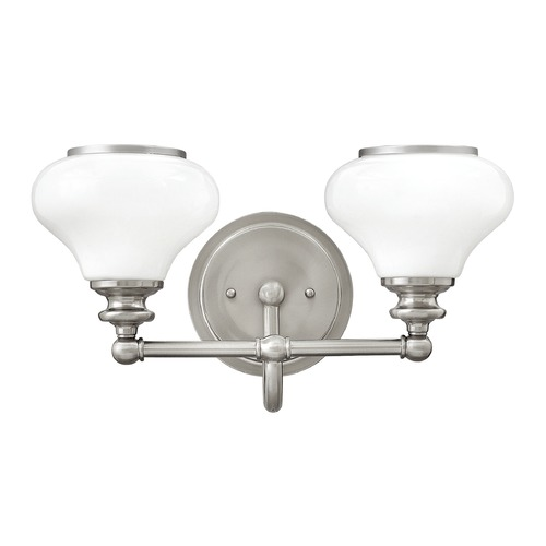 Hinkley Lighting Hinkley Lighting Ainsley Brushed Nickel Bathroom Light 56552BN