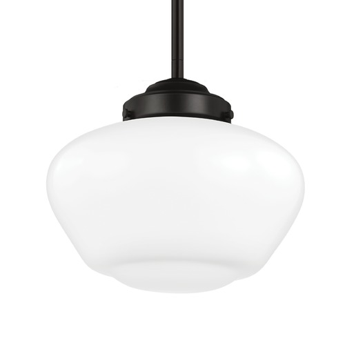 Feiss Lighting Feiss Alcott Oil Rubbed Bronze Mini-Pendant Light P1383ORB