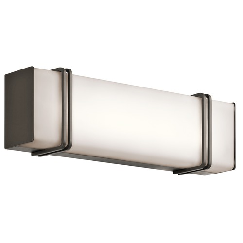 Kichler Lighting Kichler Lighting Impello Olde Bronze LED Bathroom Light 45801OZLED