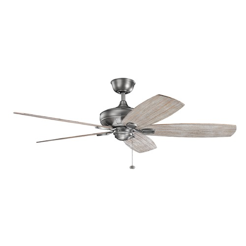Kichler Lighting Kichler Lighting Ashbyrn Antique Pewter Ceiling Fan Without Light 300269AP