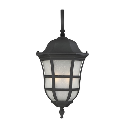 Savoy House Savoy House Lighting Ashburn Black Outdoor Wall Light 5-484-BK