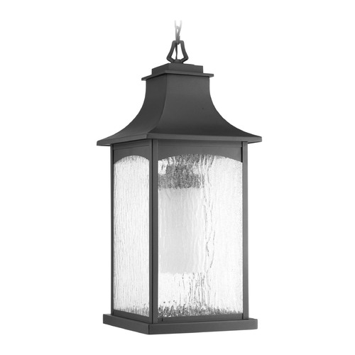 Progress Lighting Progress Lighting Maison CFL Black Outdoor Hanging Light P6541-31