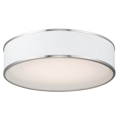 Maxim Lighting Maxim Lighting Prime Satin Nickel LED Flushmount Light 10223WLSN