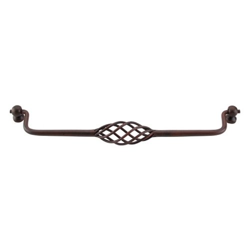 Top Knobs Hardware Cabinet Pull in Patina Rouge Finish M666