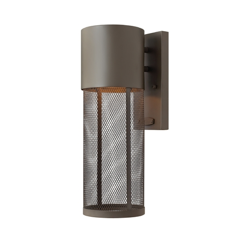 Hinkley Lighting Modern Outdoor Wall Light in Buckeye Bronze Finish 2300KZ