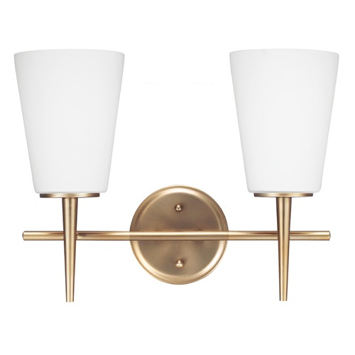 Sea Gull Lighting Modern Bathroom Light Bronze Driscoll by Sea Gull Lighting 4440402-848