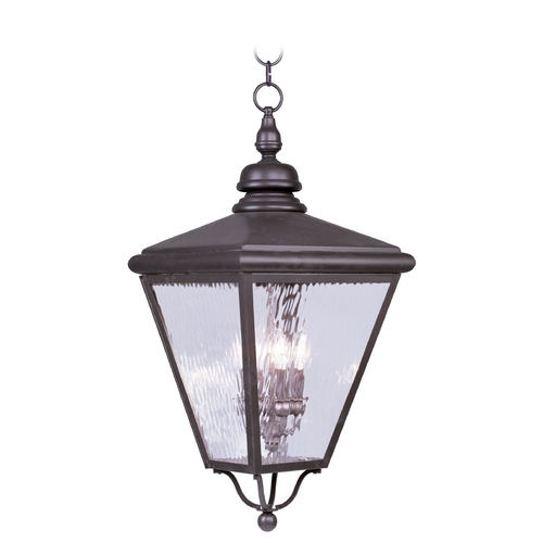 Livex Lighting Livex Lighting Cambridge Bronze Outdoor Hanging Light 2037-07