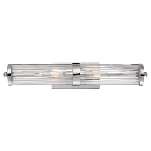 Savoy House Brian Thomas Polished Chrome Bathroom Light - Vertical or Horizontal Mounting 8-6801-2-11