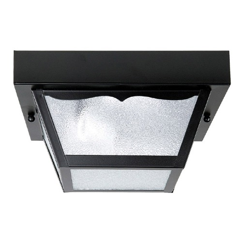 Capital Lighting Capital Lighting Black Close To Ceiling Light 9939BK