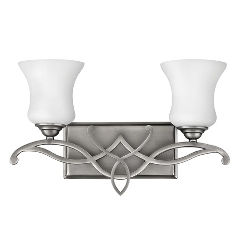 Hinkley Lighting Hinkley Lighting Brooke Antique Nickel Sconce 5002AN-GU24