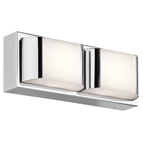 Kichler Lighting Kichler Lighting Nita Chrome LED Bathroom Light 45820CHLED