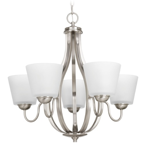 Progress Lighting Progress Lighting Arden Brushed Nickel Chandelier P4746-09