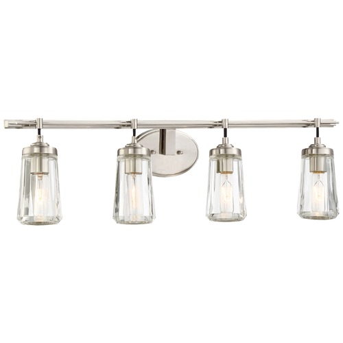 Minka Lavery Minka Poleis Brushed Nickel Bathroom Light 2304-84