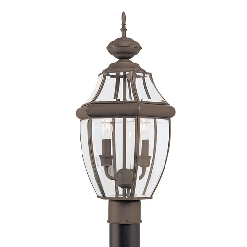 Sea Gull Lighting Sea Gull Lighting Lancaster Antique Bronze LED Post Light 8229EN-71