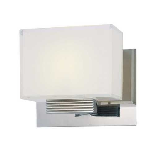 George Kovacs Lighting Polished Chrome Square Sconce P5211-077