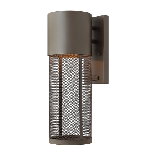 Hinkley Lighting Modern LED Outdoor Wall Light in Buckeye Bronze Finish 2300KZ-LED