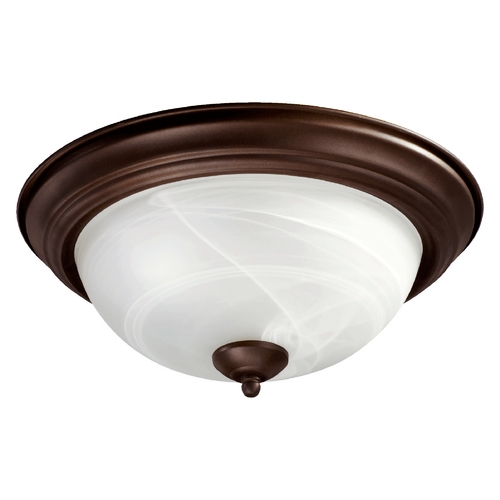Quorum Lighting Quorum Lighting Oiled Bronze Flushmount Light 3066-13-86