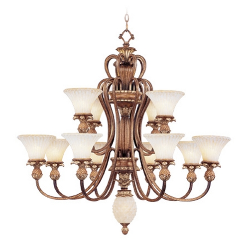 Livex Lighting Livex Lighting Savannah Venetian Patina Chandelier 8428-57