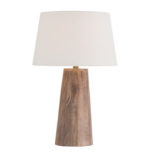 Arteriors Home Lighting Arteriors Home Lighting Jaden Washed Tobacco Table Lamp with Empire Shade 12659-778